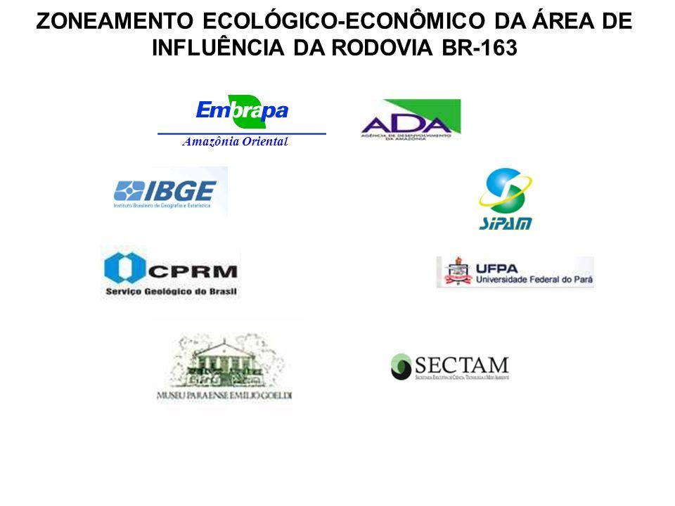 Amazônia Oriental ZONEAMENTO ECOLÓGICO-ECONÔMICO DA ÁREA DE INFLUÊNCIA DA RODOVIA BR-163