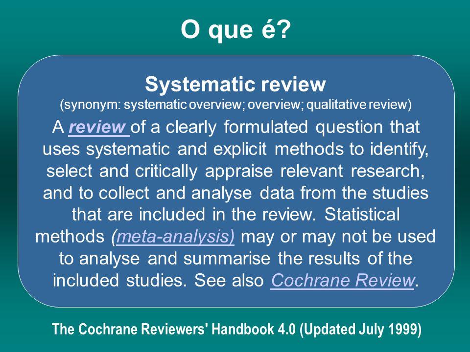 7 - Atualização da revisão sistemática