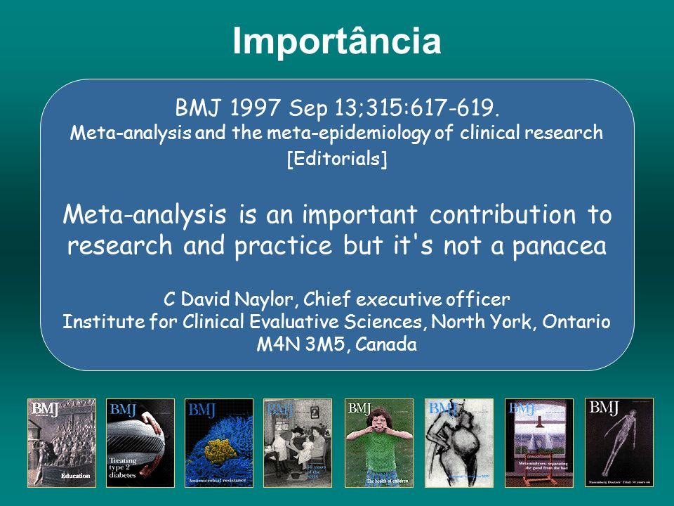 www.evidence.org Clinical Evidence is a compendium of the best available evidence for effective health care