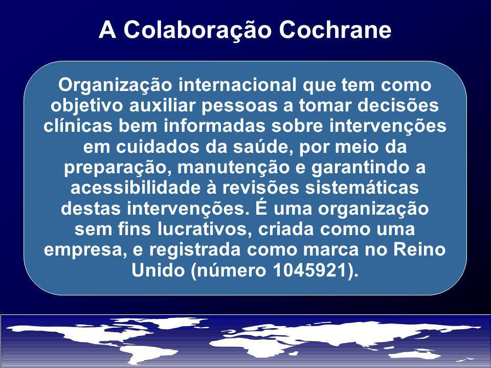 Cochrane Centres Help Organise and Register Review Groups Facilitate Collaboration Among Reviewers Provide Training and Consultation Establish Liaisons Promote Cochrane Collaboration Provide Unique Contribution
