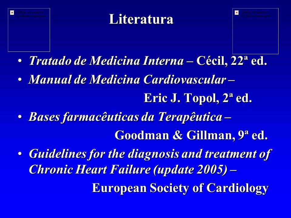 Literatura Tratado de Medicina Interna – Cécil, 22ª ed.Tratado de Medicina Interna – Cécil, 22ª ed.