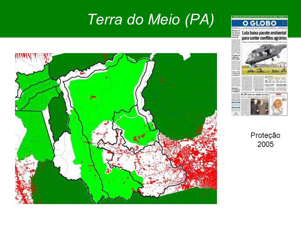 Terra do Meio (PA) Proteção 2005