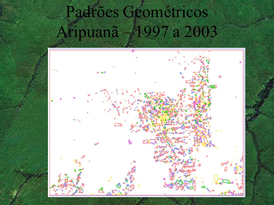 Padrões Geométricos Aripuanã – 1997 a 2003