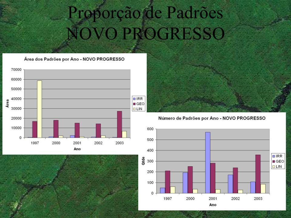 Proporção de Padrões NOVO PROGRESSO
