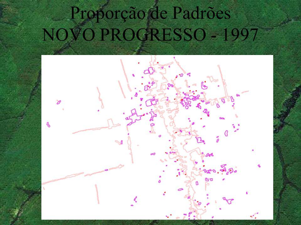 Proporção de Padrões NOVO PROGRESSO - 1997