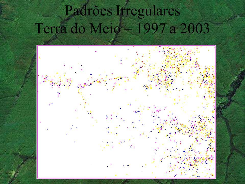 Padrões Irregulares Terra do Meio – 1997 a 2003