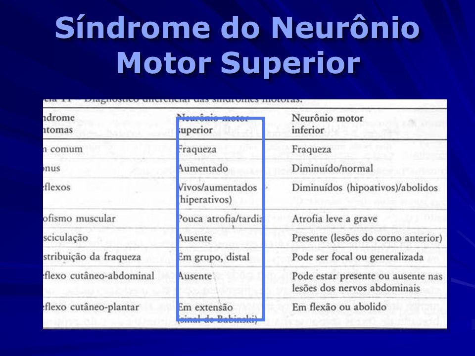 Síndrome do Neurônio Motor Superior