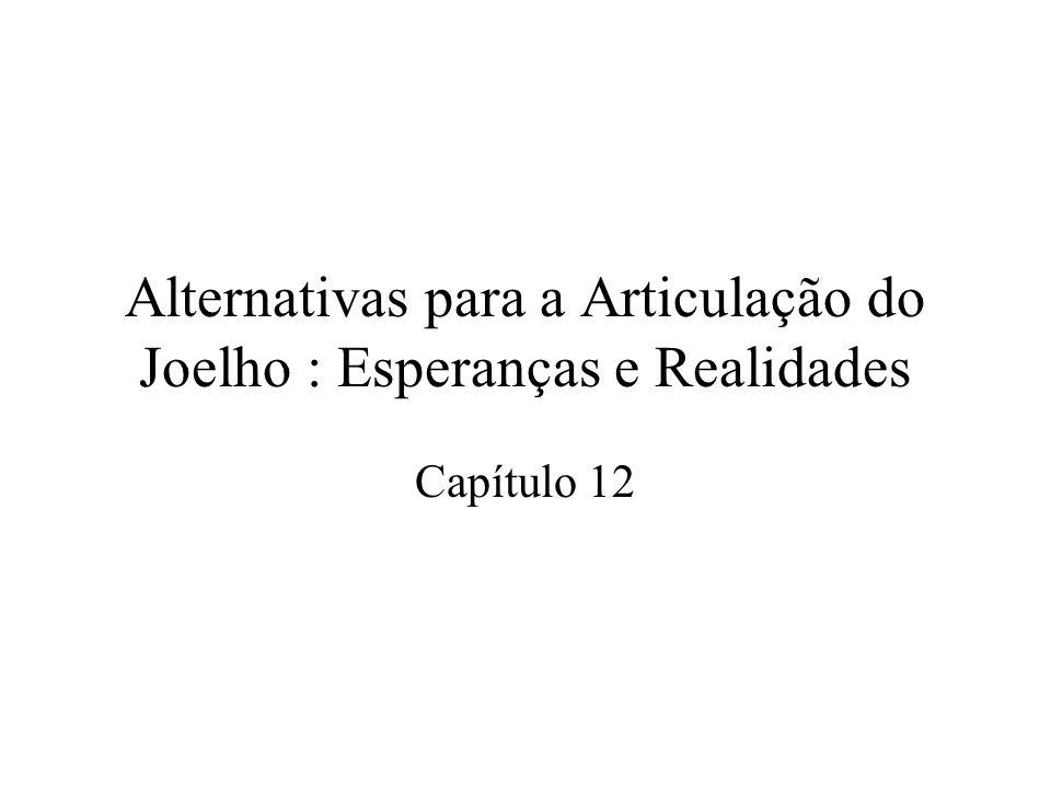 Alternativas para a Articulação do Joelho : Esperanças e Realidades Capítulo 12