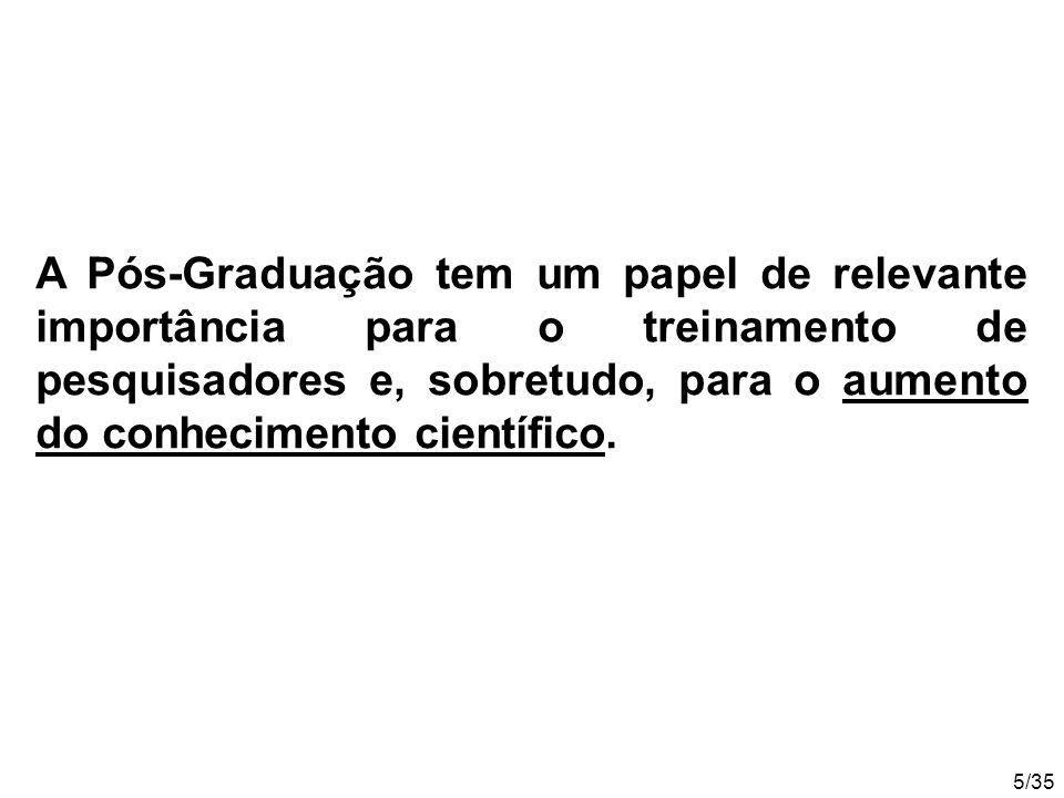 16/35 No Brasil, estão sendo editados 37 periódicos científicos de veterinária, zootecnia e tecnologia de alimentos.