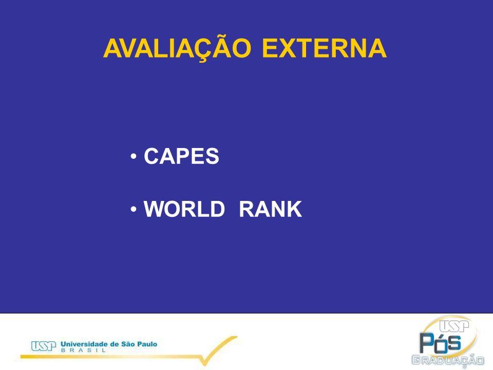 AVALIAÇÃO EXTERNA CAPES WORLD RANK