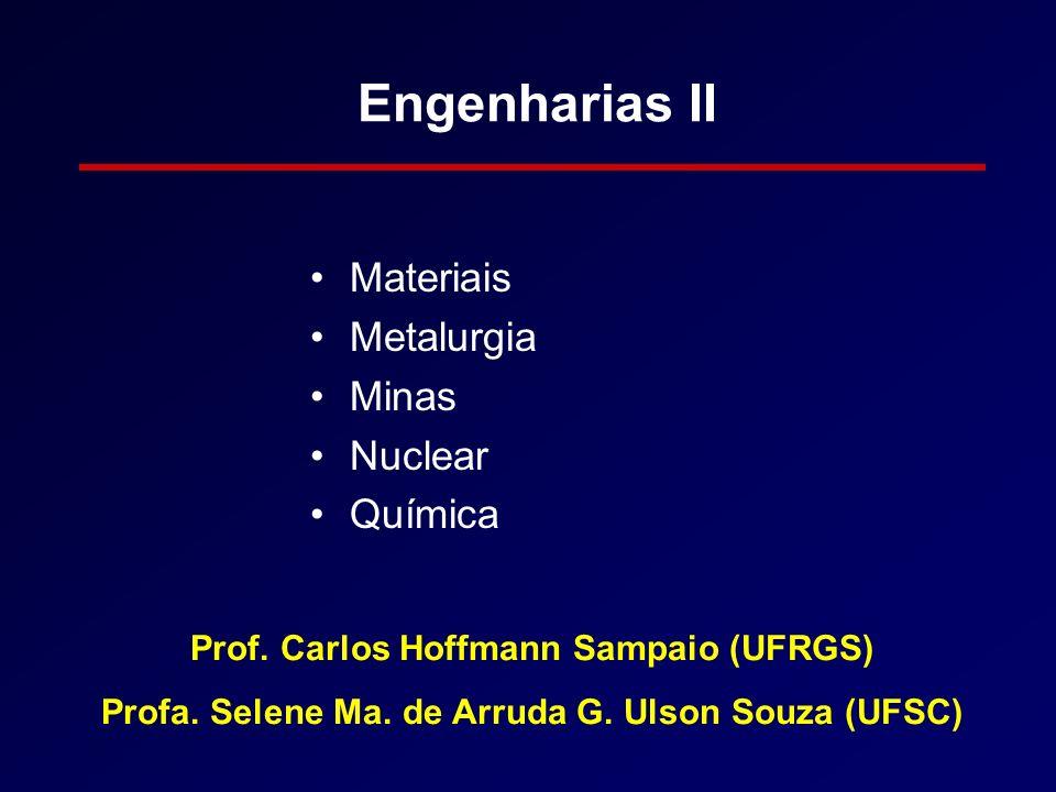 Engenharias III Aeroespacial Mecânica Naval e Oceânica Petróleo Produção Prof.
