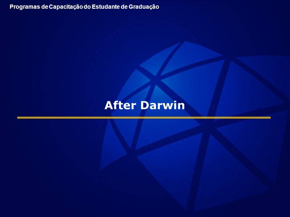 After Darwin Programas de Capacitação do Estudante de Graduação