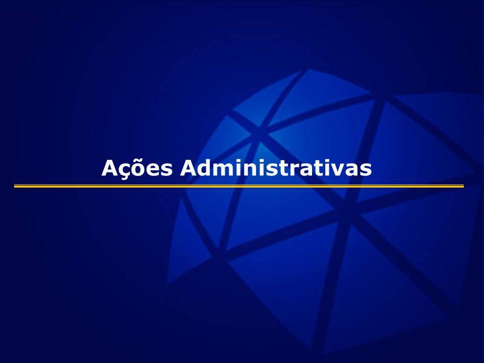 Ações Administrativas