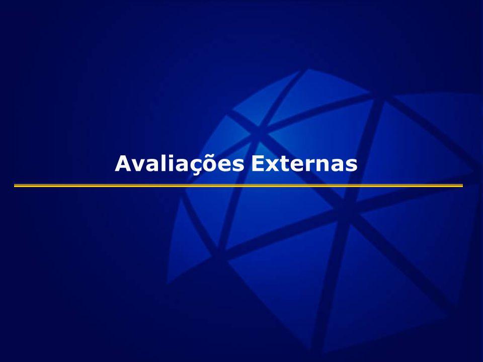 Avaliações Externas