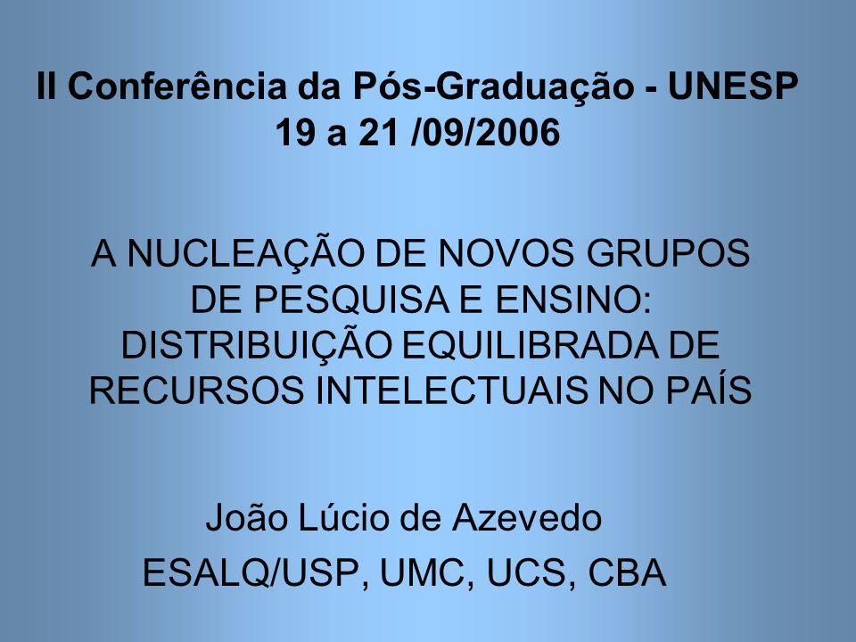 Programas Nucleadores e Programas Nucleados