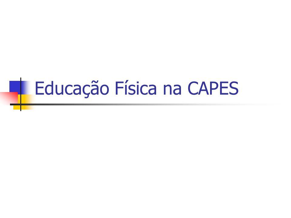Educação Física na CAPES