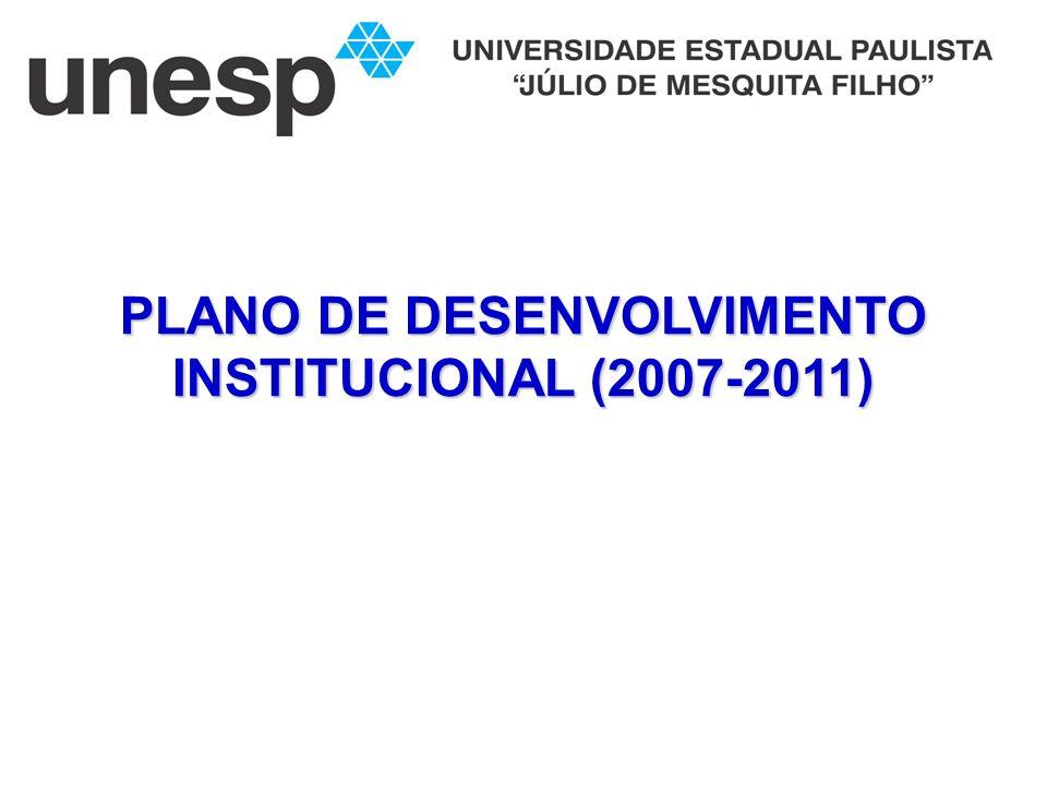 PLANO DE DESENVOLVIMENTO INSTITUCIONAL (2007-2011)