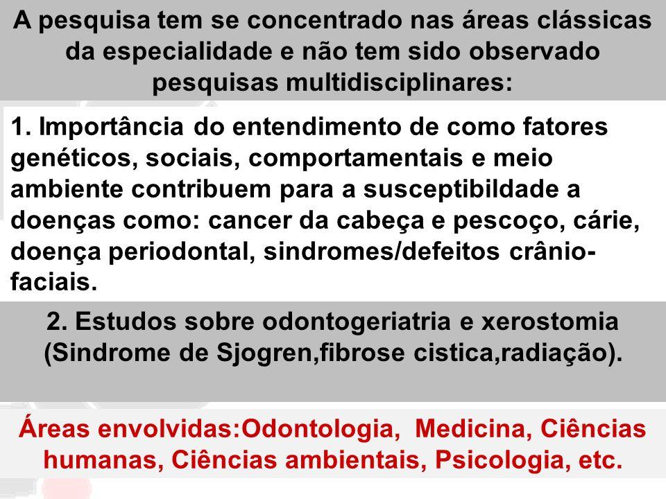 1. Importância do entendimento de como fatores genéticos, sociais, comportamentais e meio ambiente contribuem para a susceptibildade a doenças como: c