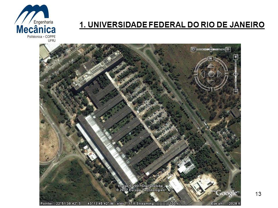 13 1. UNIVERSIDADE FEDERAL DO RIO DE JANEIRO