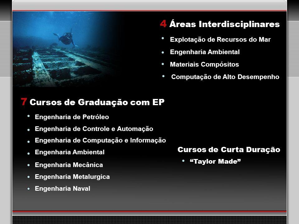 29 7 Cursos de Graduação com EP Engenharia de Petróleo Engenharia de Controle e Automação Engenharia de Computação e Informação Engenharia Ambiental 4