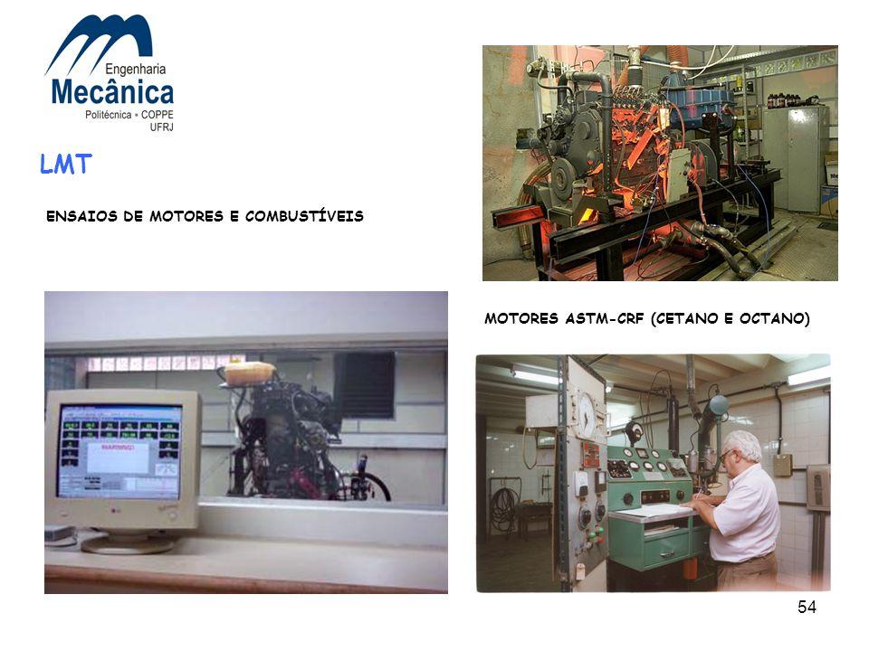 54 LMT MOTORES ASTM-CRF (CETANO E OCTANO) ENSAIOS DE MOTORES E COMBUSTÍVEIS