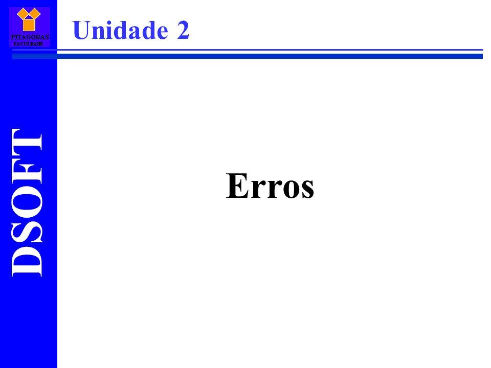 Erros Unidade 2