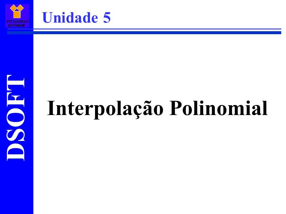 Interpolação Polinomial Unidade 5