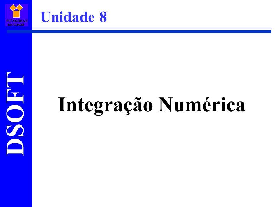 Integração Numérica Unidade 8