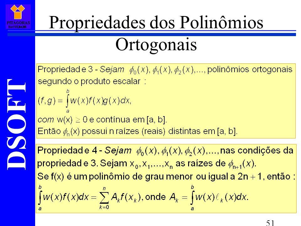 DSOFT 51 Propriedades dos Polinômios Ortogonais