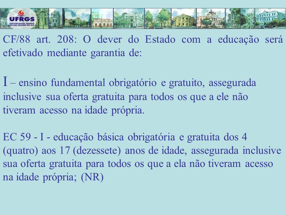 Formação do Educador para trabalhar na EJA O art.