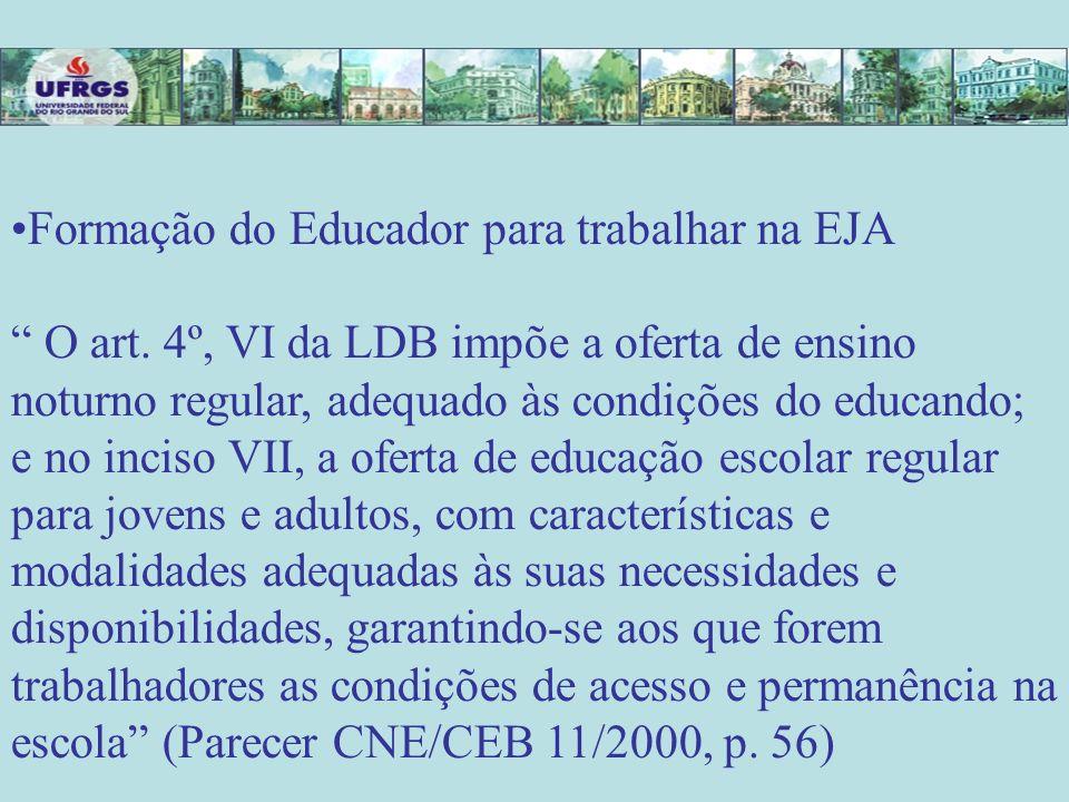 PROEJA – EJA+PROFISSIONAL JOVEM ADULTO TRABALHADOR DISPUTA POR CONCEPÇÃO DE TRABALHO