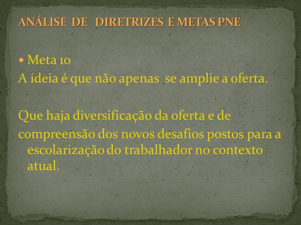 POR UMA EJA REPUBLICANA POR UM PLANO NACIONAL DE EDUCAÇÃO (2011-2020) COMO POLÍTICA DE ESTADO