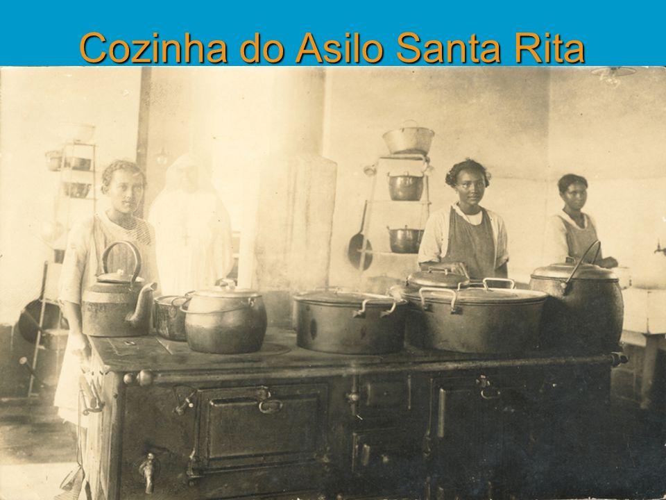 Cozinha do Asilo Santa Rita