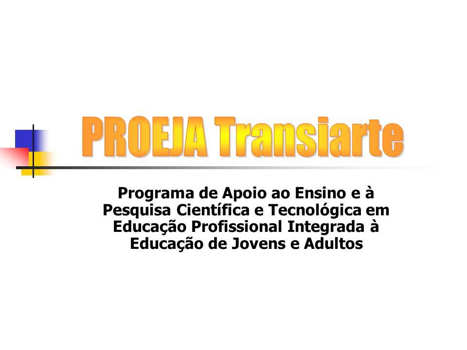 Programa de Apoio ao Ensino e à Pesquisa Científica e Tecnológica em Educação Profissional Integrada à Educação de Jovens e Adultos