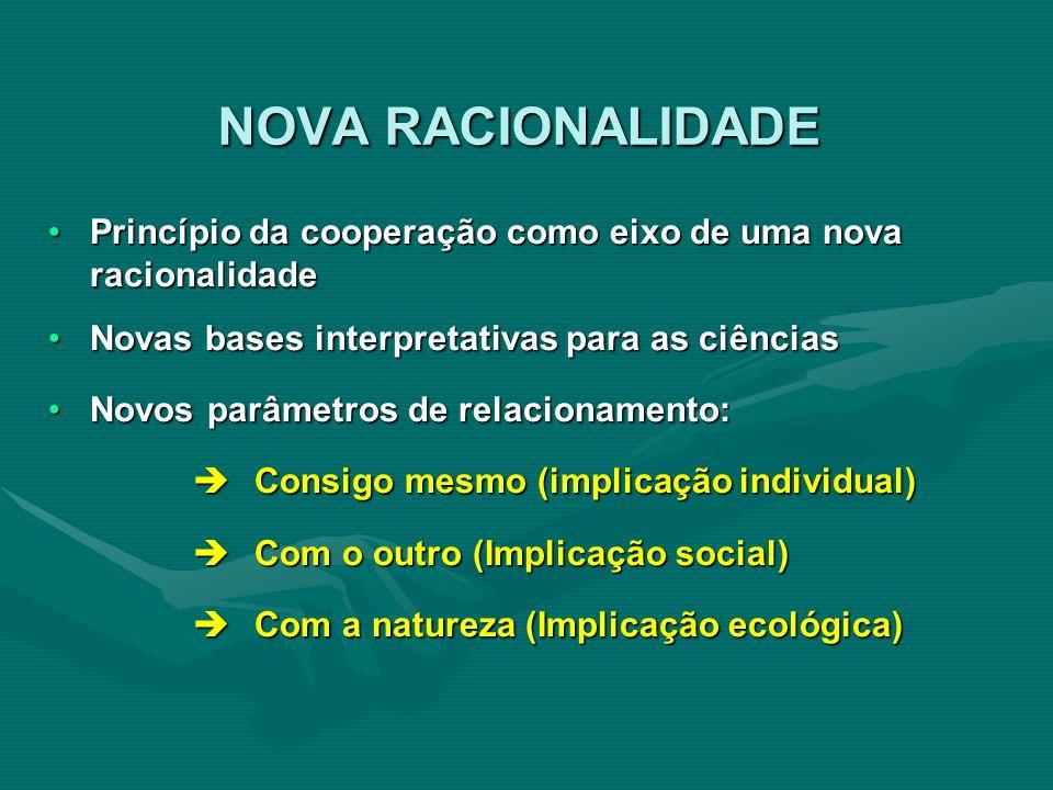 Princípio da cooperação como eixo de uma nova racionalidadePrincípio da cooperação como eixo de uma nova racionalidade Novas bases interpretativas par