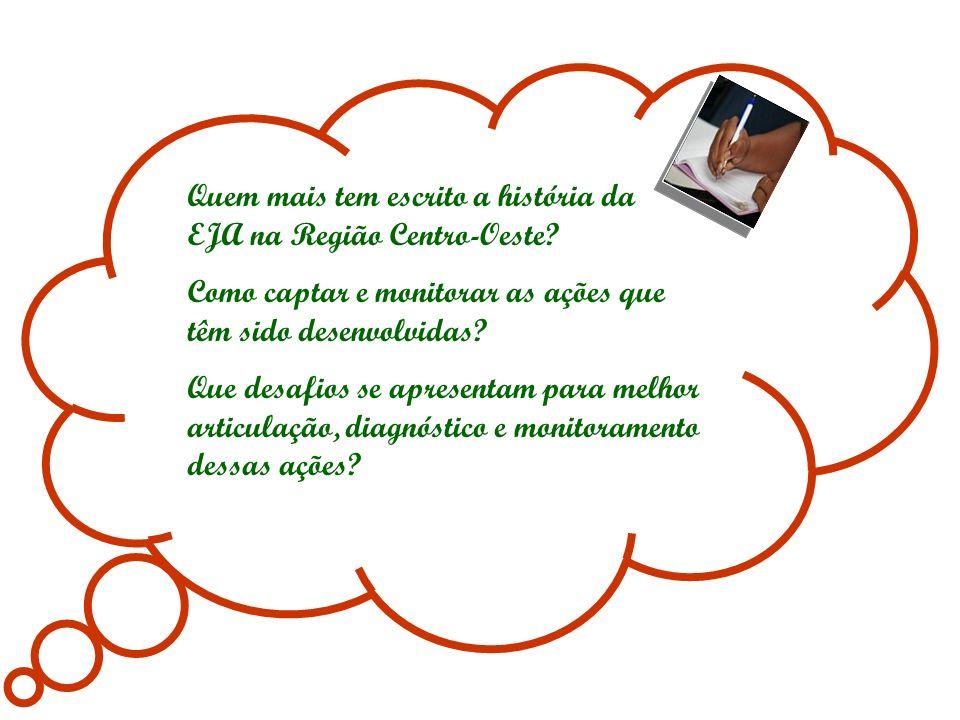 EJA nas Unidades Prisionais...EJA do Campo... Brasil Alfabetizado...