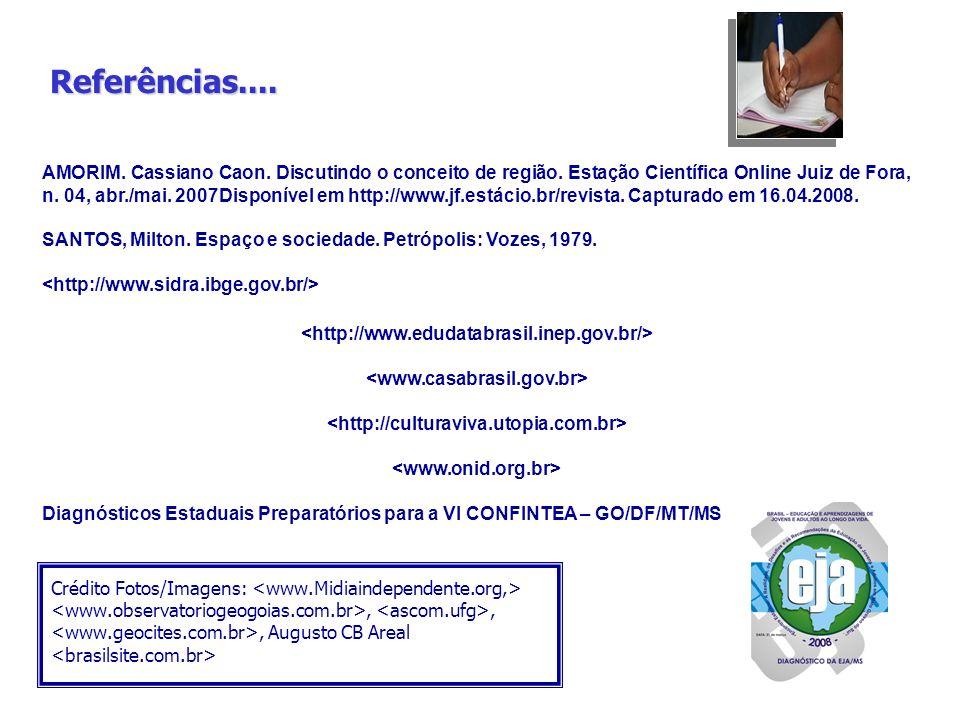 BRASIL Educação e Aprendizagens de Jovens e Adultos ao Longo da Vida...