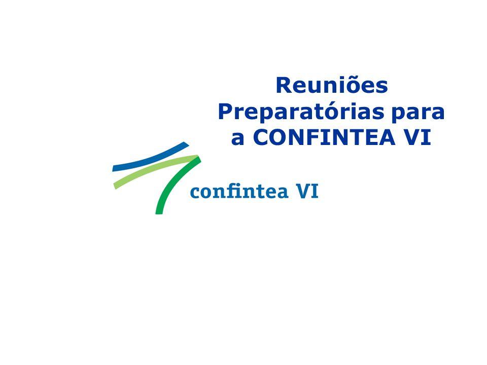 Reuniões Preparatórias para a CONFINTEA VI