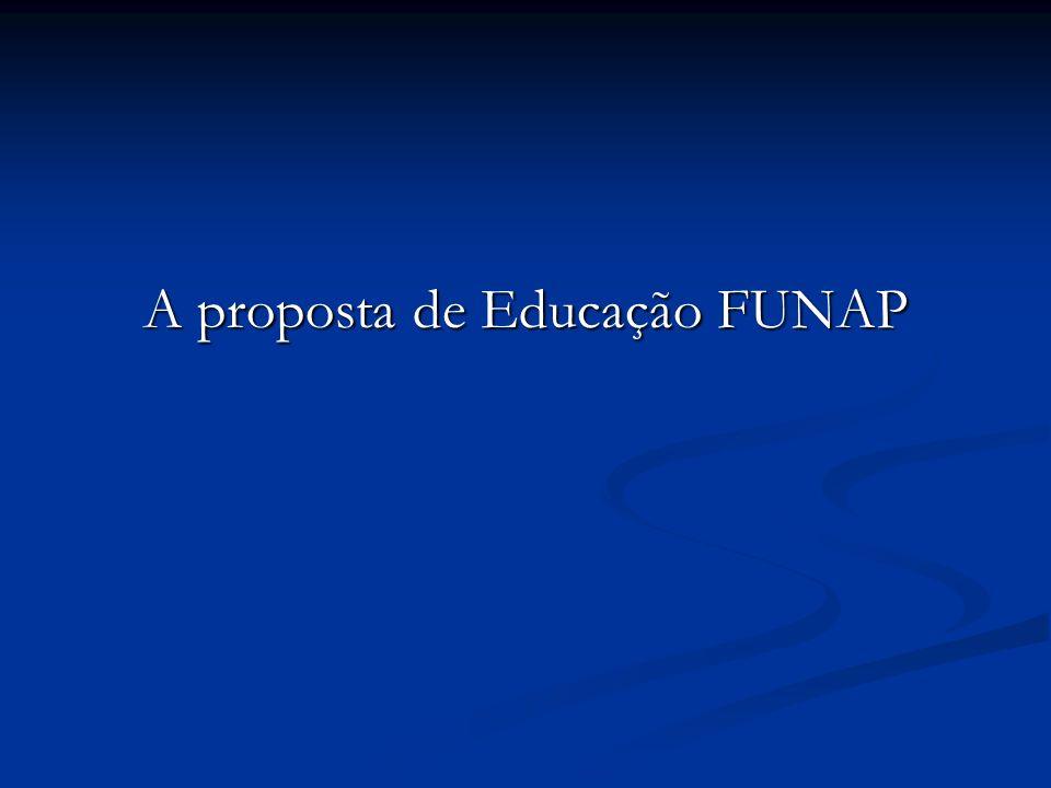 A proposta de Educação FUNAP