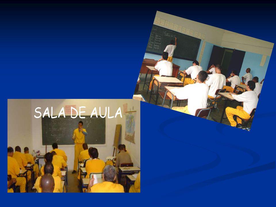 Educação no Sistema Prisional Paulista Educadores Estagiários 103 Estagiários 103 Estudantes universitários com contrato temporário por no máximo 2 anos Monitor-orientador Monitor-orientador Em sala de aula Em sala de aula Agentes de segurança penitenciária – ASPs Agentes de segurança penitenciária – ASPs Servidores (de Nível Médio) da Secretaria de administração penitenciária deslocados para a função de educador sob supervisão da Funap Servidores (de Nível Médio) da Secretaria de administração penitenciária deslocados para a função de educador sob supervisão da Funap Monitor-orientador = 8 Monitor-orientador = 8 Em sala de aula = 11 Em sala de aula = 11
