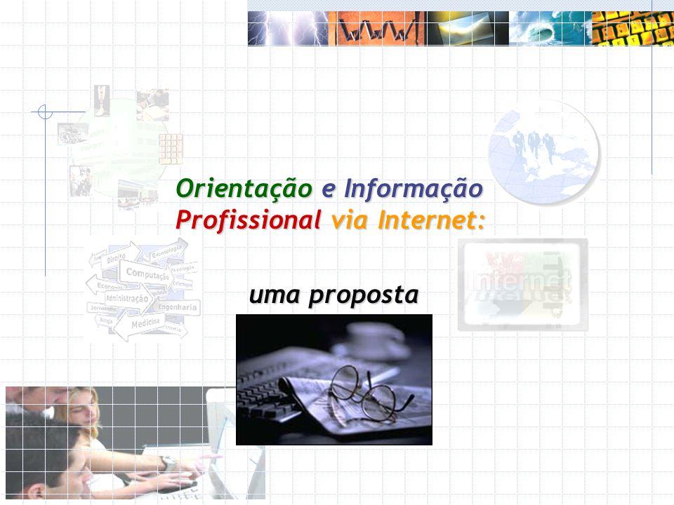 Orientação e Informação Profissional via Internet: uma proposta Ralf H.