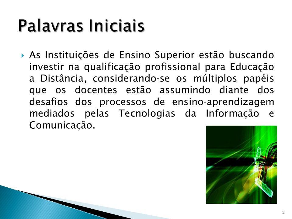 Descrever as ações que envolvem o planejamento e a execução do Programa de Formação Continuada de Docentes para Educação a Distância da Universidade Federal Rural de Pernambuco (UFRPE).