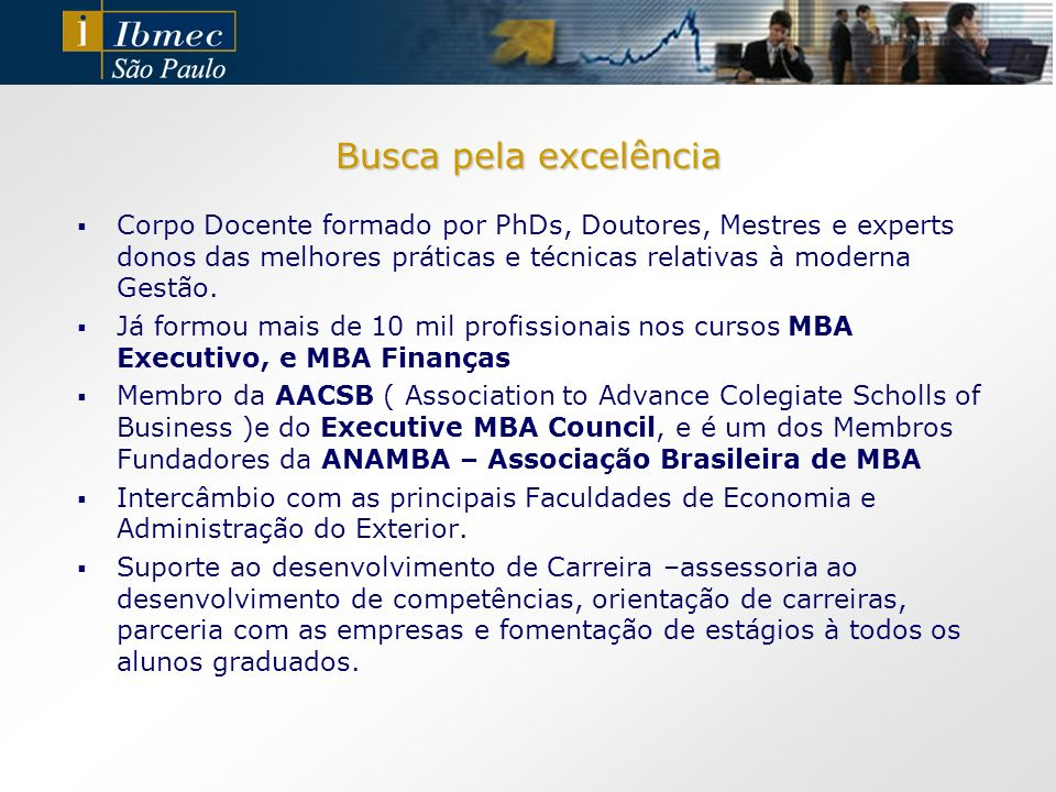 Conquistas Ibmec São Paulo Novo Campus Com o objetivo de oferecer aos alunos mais espaço para convivência, estudo e interação, o novo prédio será construído em uma área de 5,6 mil m².