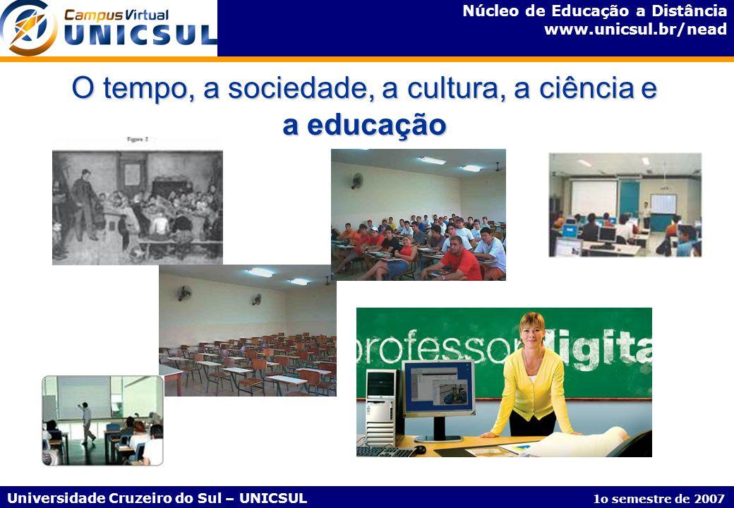Núcleo de Educação a Distância www.unicsul.br/nead Universidade Cruzeiro do Sul – UNICSUL 1o semestre de 2007 Eventos Pedagógicos AV - 2h 30min.