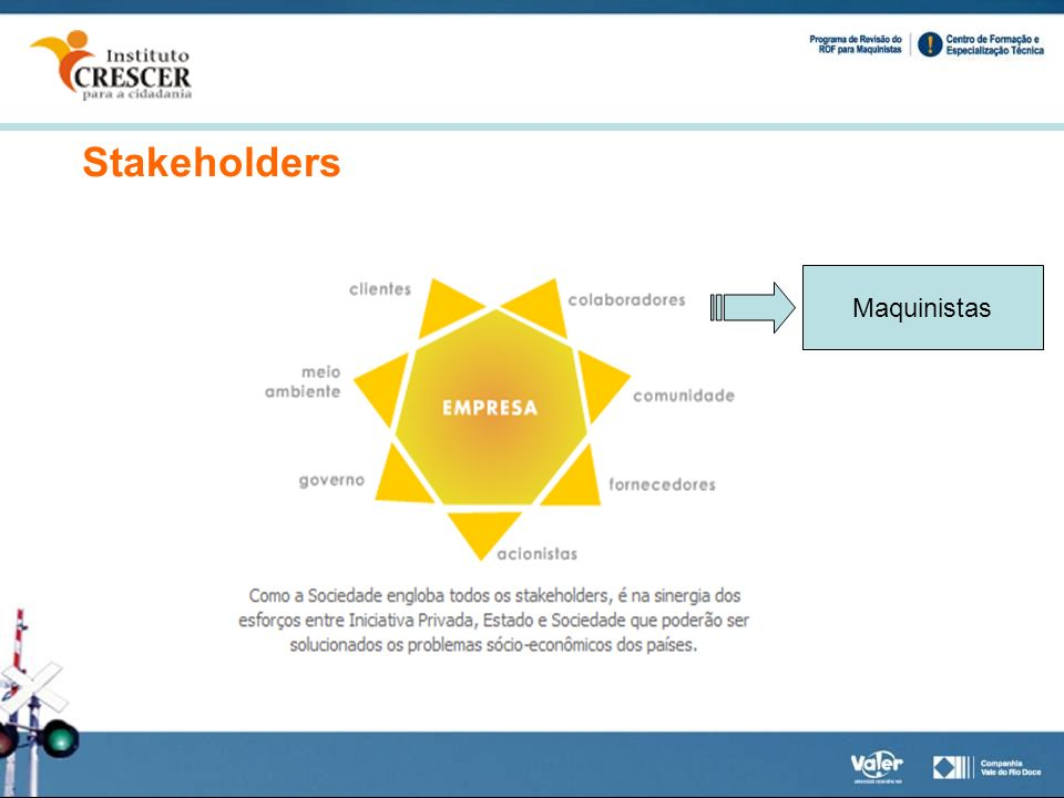 Stakeholders Maquinistas
