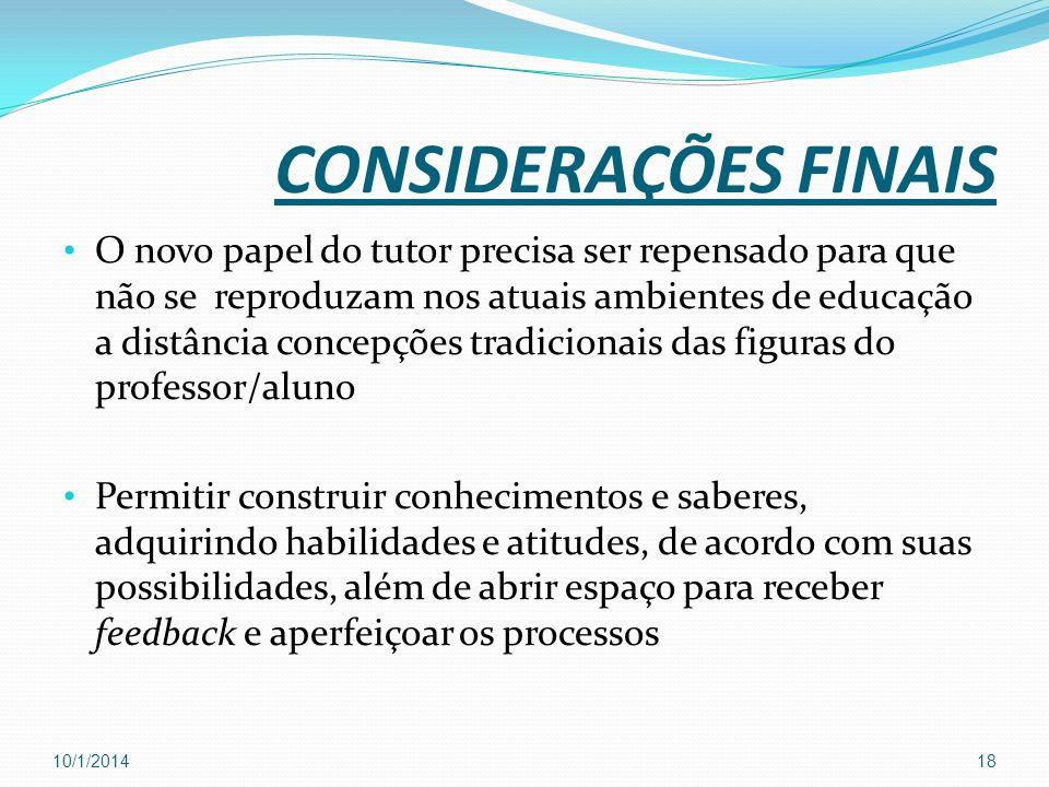 Referências ALMEIDA, Fernando José et al.