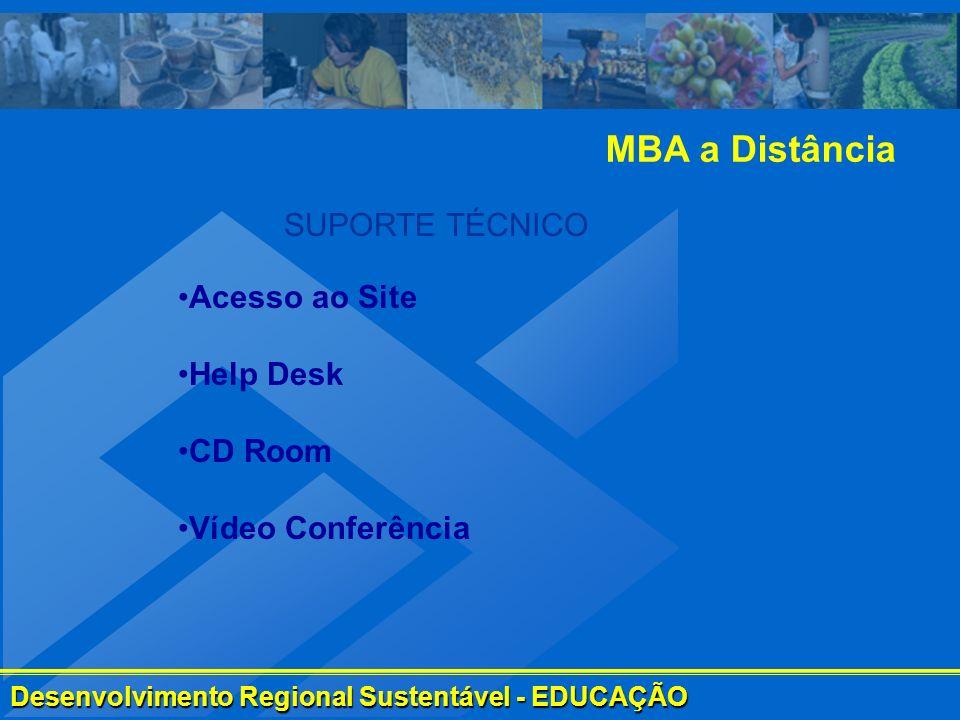 Desenvolvimento Regional Sustentável - EDUCAÇÃO