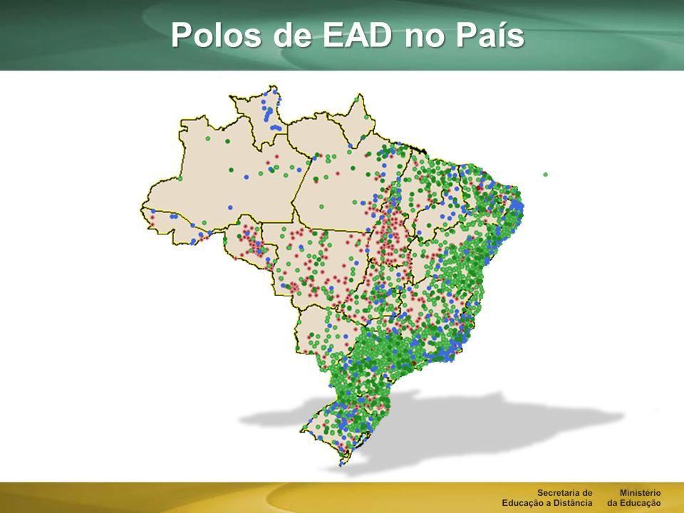 Polos de EAD no País