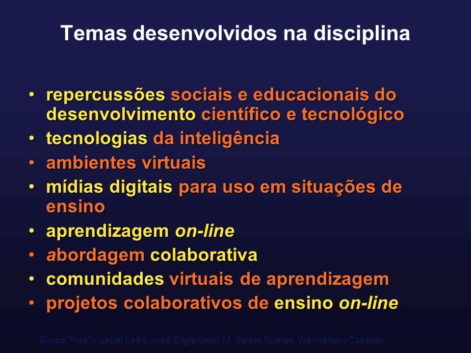 Grupo Nós - Izabel Leão, José Erigleidson, M.
