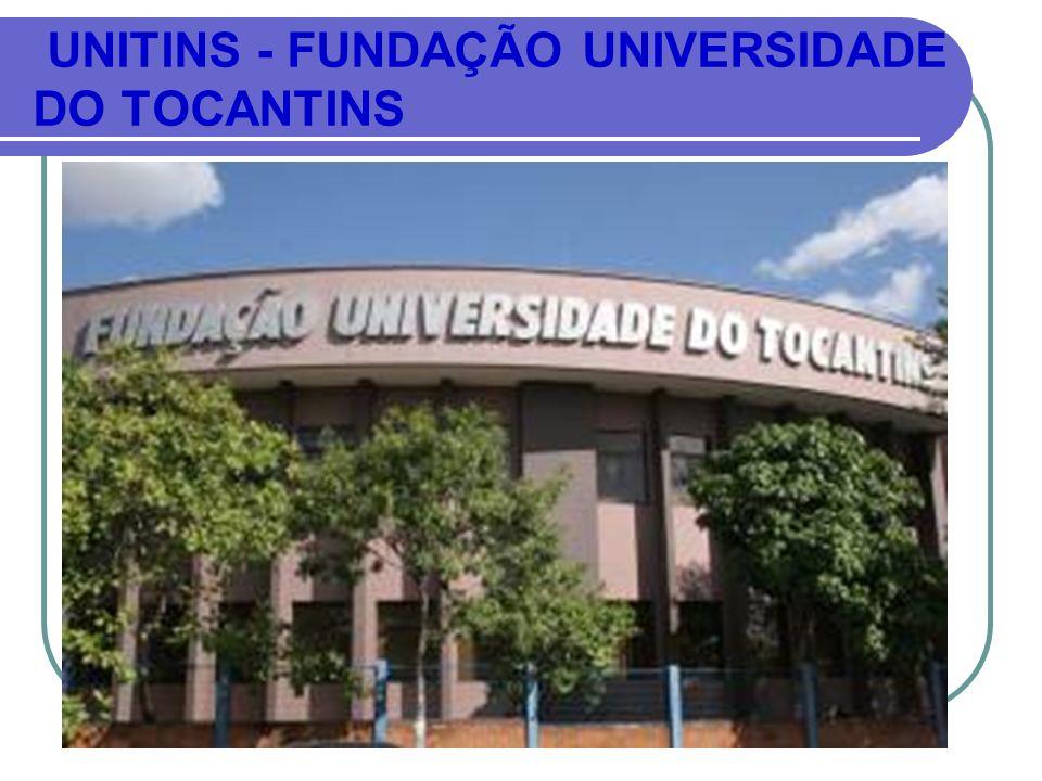 1990 - PRIMEIRA UNIVERSIDADE TOCANTINENSE.2001- FEDERALIZAÇÃO (UFT).
